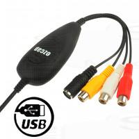 Video Capture usb per pc EzCAP acquisizione HD Registrazione Audio/Video composito Rca S-video