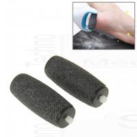 2 testine rullini di ricambio compatibili per Velvet soft pedicure kit ricarica roll cristalli