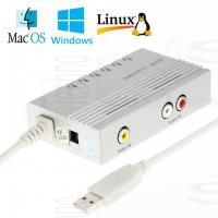 Video Capture AV-in per Win Mac Android Linux Usb acquisizione DVR Registrazione Audio Video grabber