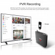 Smart Box TV M8S Plus Android 9 Ricevitore Tv DVB-T2 DVR Recorder video registratore Usb 3.0 4K S905X2