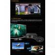 "Mediacenter Measy box 3,5"" sata Player/Recorder AV-in doppio Ricevitore TV DVB-T, Full-HD"