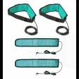 2 Fasce solenoidi con cinghia elastica regolazione a strappo velcro
