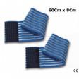 DOTAZIONE: 2 fasce elastiche da 60Cm con regolazione a strappo