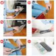 5 Pellicola protettiva igiene telecomando universale lavabile pulire disinfettare igienizzare protection film remote control