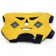 PG1011 Fiab Maschera facciale ecopelle conduttiva per elettrostimolazione e ionoforesi bipolare con 2 clip 4mm