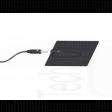 kit 4 elettrodi silicone placca gomma 50 x 100mm lunga durata ionoforesi tens elettrostimolazione spinotto 2mm