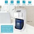 Dispenser erogatore automatico con fotocellula senza contatto 400ml sapone igienizzazione mani con display