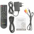 Accessori in dotazione: TV Box   Cavo Audio/Video Composito RCA  Alimentatore 220V  Cavo HDMI  Telecomando ad infrarossi  Manuale d'uso in Inglese