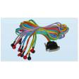 Dotazione: Cavi di collegamento elettrodi