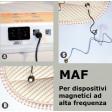 Gilet magnetico magnetoterapie MAF magneto alta frequenza terapie dorsali tronco spalle bacino cervicale