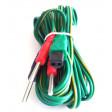 Kit 2 cavi di ricambio per elettrostimolatore Tesmed  te 780plus te780-b plus 4 poli a spinotto