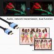 Cavo connessione HDMI2.0 10metri 4K HD Full-HD ultraHD High speed HEC ethernet