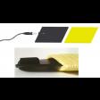 kit 2 elettrodi silicone gomma 60 x 85mm 2 spugne tasche idratabili ionoforesi tens elettrostimolazione spinotto 2mm