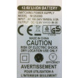 Carica batteria Litio 220V 12V 12,6V 3S 350mA Jack 5,5mm Lipo Lithium battery charger
