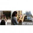 Lente addizionale prisma rotazione inquadratura 90° universale magnetico per smartphone tablet web cam