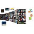 Smart Box K1 Plus Android con doppio ricevitore tv DVB-T2-S2